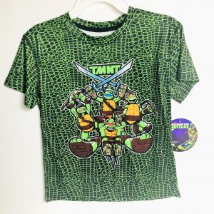 Polo Mutant Tortugas Ninja Para Niños