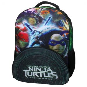 Mochila Ninja Turtles Para Niños