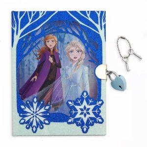 Diario Frozen De Disney Para Niñas