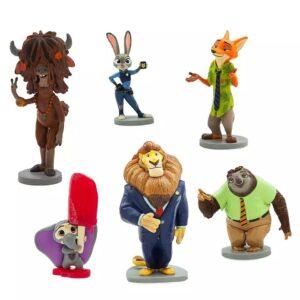 Zootopia Figurias Set De Disney