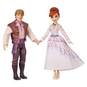 Muñecos  Anna y Kristoff De Disney Para Niños