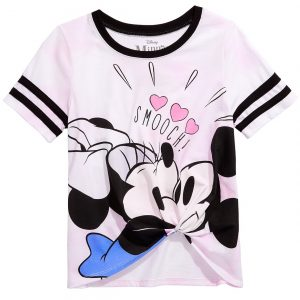 Polo Minnie Loves Mickey  De Disney  Para Niñas