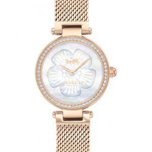 COACH Reloj Pulsera Acero inoxidable Oro Rosa