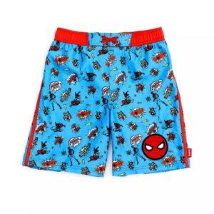 Ropa De Baño Hombre Araña Para Niños