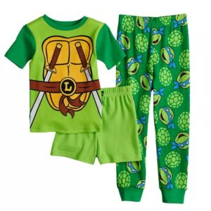 Pijama Tortugas NInja Para Niños