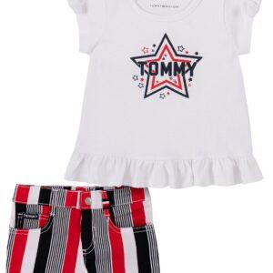 Conjunto Tommy Hilfiger Para Niños