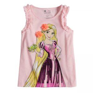 Polo Rapunzel De Disney Para Niñas